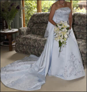 Size 10 dress | Second hand wedding dresses Richmond - Size 10