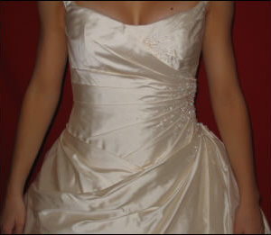 Judith Valente – Size 10 Silk dress | Second hand wedding dresses East Burwood - 2