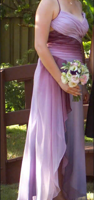 Mr K – Size 12 Chiffon dress | Second hand wedding dresses Cranbourne - Size 12