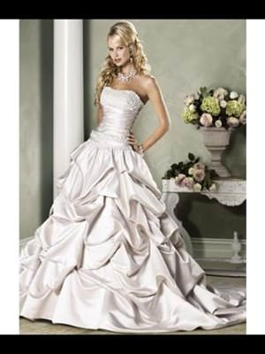 Maggie Sottero – Size 10 Polyester dress | Second hand wedding dresses Yeppoon - Size 10