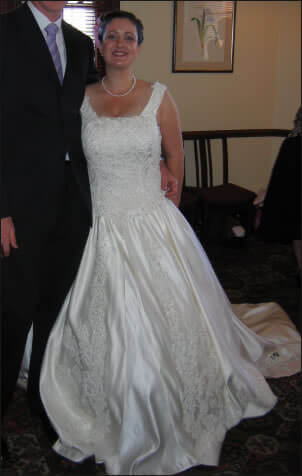 Size 12 dress | Second hand wedding dresses Berwick - Size 12