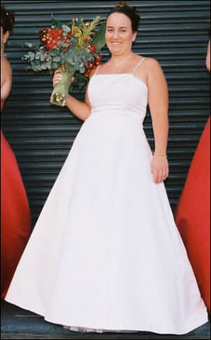 Size 12 dress | Second hand wedding dresses Hillsdale - Size 12