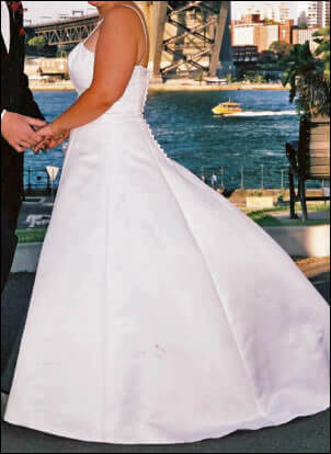 Size 12 dress | Second hand wedding dresses Hillsdale - 2