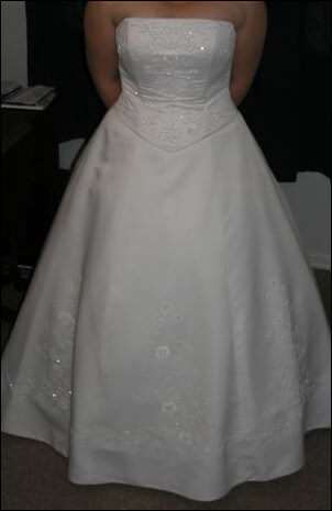 Size 16 dress | Second hand wedding dresses Laidley - Size 16