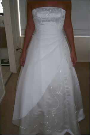 Size 10 dress | Second hand wedding dresses Broadbeach - Size 10