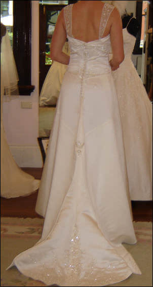 Size 10 dress | Second hand wedding dresses Currajong - 2