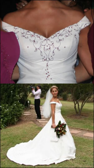 Size 10 dress | Second hand wedding dresses Neutral Bay - 2
