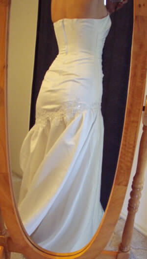 Size 10 dress | Second hand wedding dresses Padstow - 2