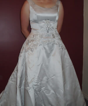 Size 14 dress | Second hand wedding dresses Mildura - Size 14