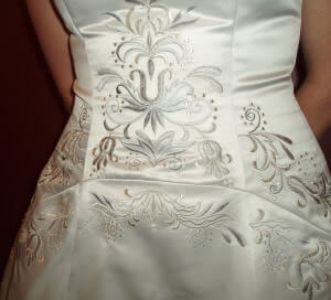 Size 14 dress | Second hand wedding dresses Mildura - 2
