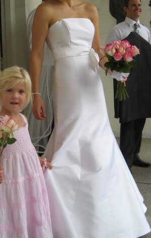 Size 10 dress | Second hand wedding dresses Tarragindi - Size 10