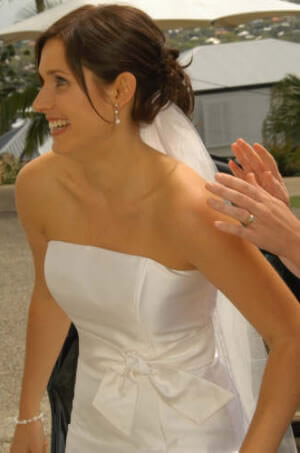 Size 10 dress | Second hand wedding dresses Tarragindi - 2