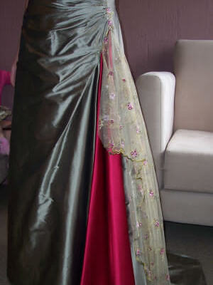 Brides of Melbourne – Size 12 Taffeta dress | Second hand wedding dresses Ringwood North - 2