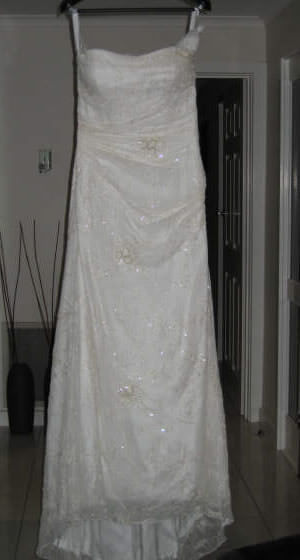 Mariana Hardwick – Size 12 Silk dress | Second hand wedding dresses Reservoir - Size 12