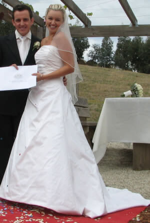 Size 10 dress | Second hand wedding dresses Geelong - Size 10