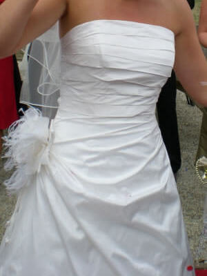 Size 10 dress | Second hand wedding dresses Geelong - 2