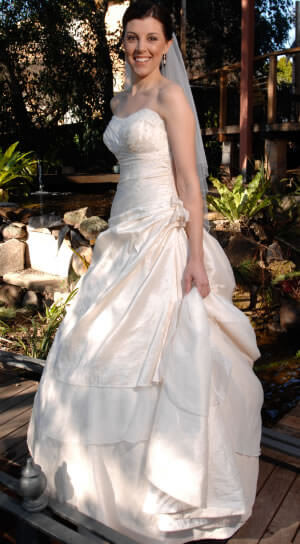 Size 8 dress | Second hand wedding dresses Epping - Size 8