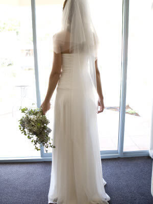 Size 6 dress | Second hand wedding dresses Artarmon - 2