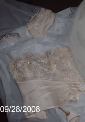 Maggie Sottero – Size 8 Silk dress | Second hand wedding dresses Cronulla - Size 8