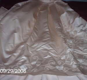 Maggie Sottero – Size 8 Silk dress | Second hand wedding dresses Cronulla - 2