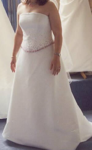 Size 14 dress | Second hand wedding dresses Hahndorf - Size 14