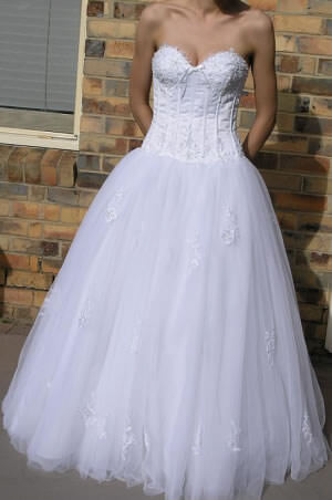 Size 10 dress | Second hand wedding dresses Carnegie - Size 10