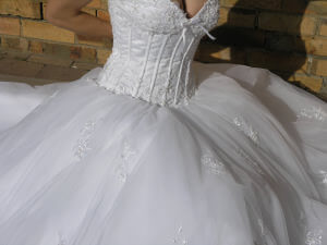 Size 10 dress | Second hand wedding dresses Carnegie - 2