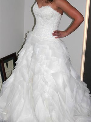 Tuscany Bridal – Size 12 Silk dress | Second hand wedding dresses Wandi - 2