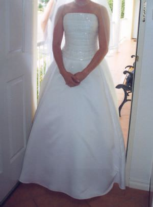 Size 10 dress | Second hand wedding dresses Sydney - Size 10