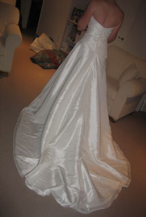 Size 12 dress | Second hand wedding dresses Jandakot - 2