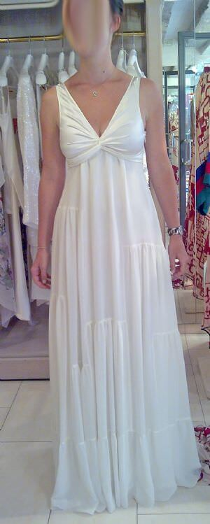 Laure de Sagazan – Size 8 Silk dress | Second hand wedding dresses Gold Coast - Size 8