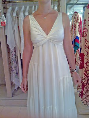 Laure de Sagazan – Size 8 Silk dress | Second hand wedding dresses Gold Coast - 2
