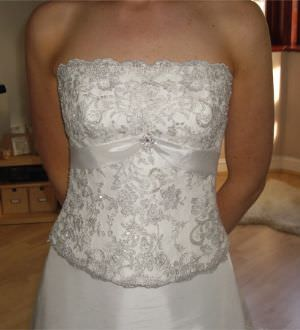 Maggie Sottero – Size 8 Taffeta dress | Second hand wedding dresses mentone - Size 8
