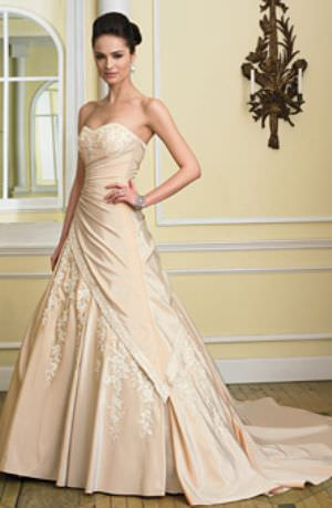 Sophia Tolli – Size 10 Taffeta dress | Second hand wedding dresses Hawthorne - Size 10