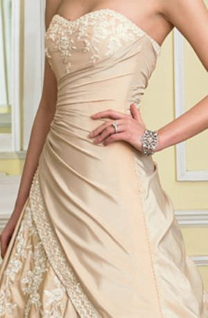 Sophia Tolli – Size 10 Taffeta dress | Second hand wedding dresses Hawthorne - 2