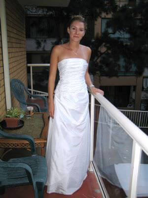 Elegance Bridal – Size 8  dress | Second hand wedding dresses Liberty Grove - Size 8