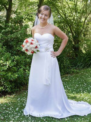 Size 10 dress | Second hand wedding dresses Churchill - Size 10
