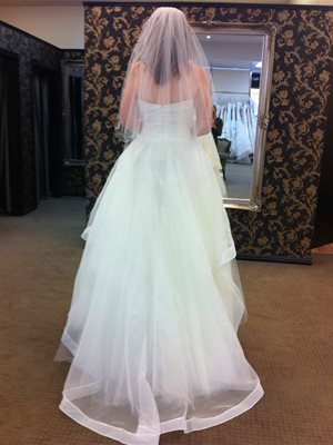 Size 14 dress | Second hand wedding dresses Belair - 2