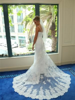 Size 8 dress | Second hand wedding dresses Helensvale - 2