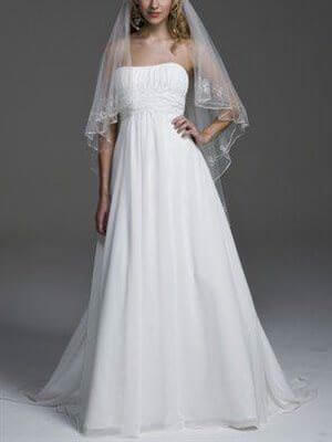 Henry Roth – Size 16 Chiffon dress | Second hand wedding dresses Ethelton - Size 16