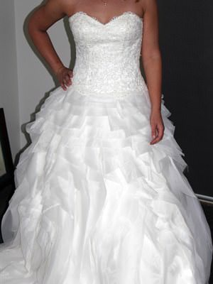 Tuscany Bridal – Size 12 Silk dress | Second hand wedding dresses Wandi - Size 12