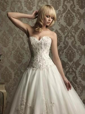 Allure Bridals – Size 12 Satin dress | Second hand wedding dresses Tannum Sands - Size 12