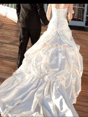Maggie Sottero – Size 8  dress | Second hand wedding dresses Forrestfield - 2