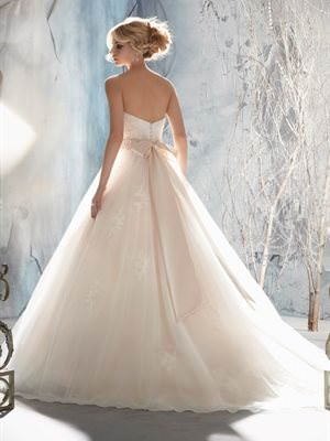 Mori Lee – Size 10 Tulle dress | Second hand wedding dresses Murrumba Downs - 2