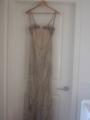George Elsissa – Size 8 A-Line dress | Second hand wedding dresses essendon - 2