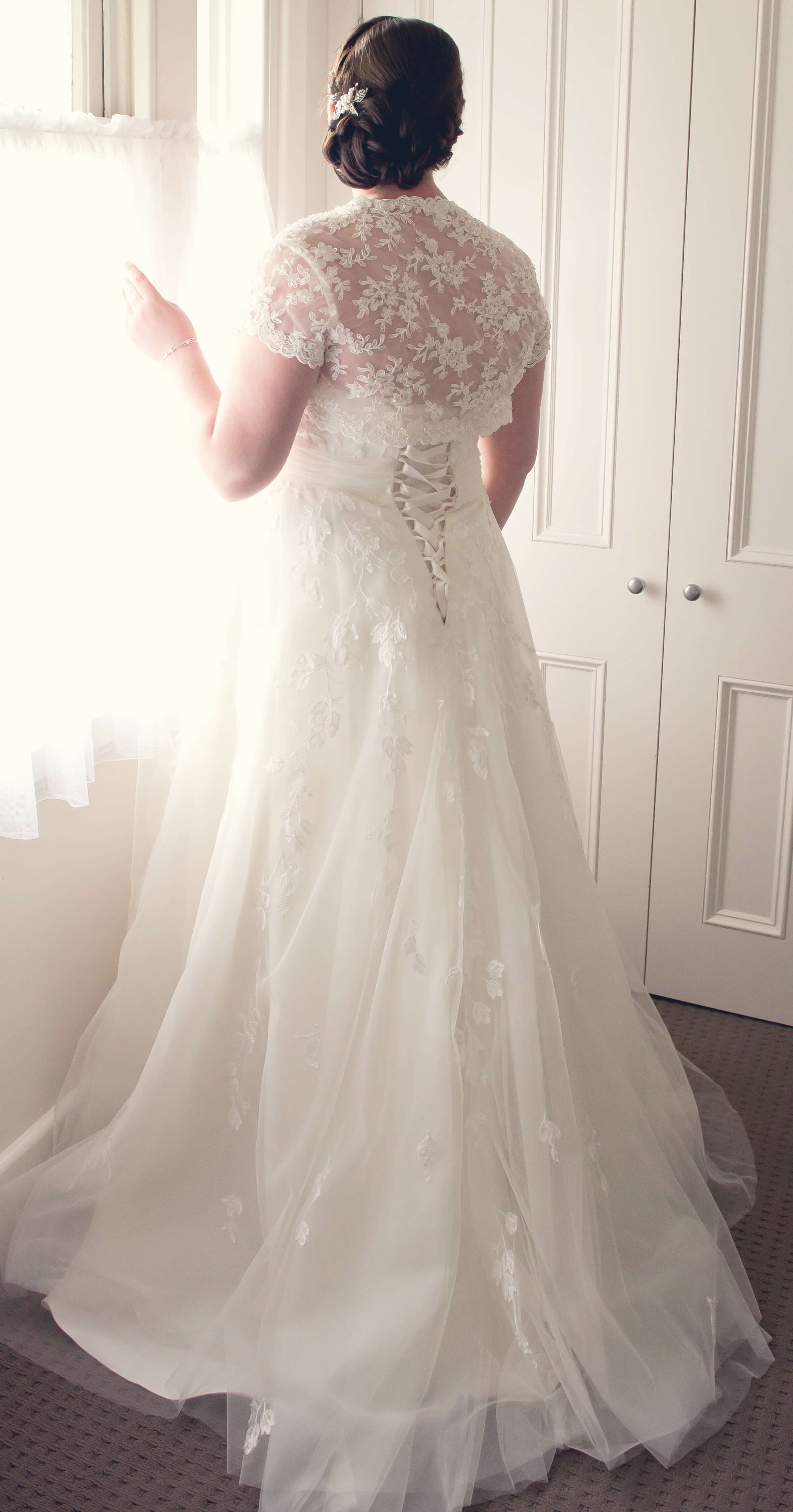 Henry Roth – Size 12 Ball Gown dress | Second hand wedding dresses Morwell - Size 12