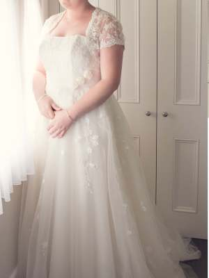 Henry Roth – Size 12 Ball Gown dress | Second hand wedding dresses Morwell - 6
