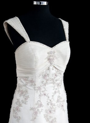 Lace dress – Size 14 Ball Gown dress | Second hand wedding dresses Safety Bay - 2
