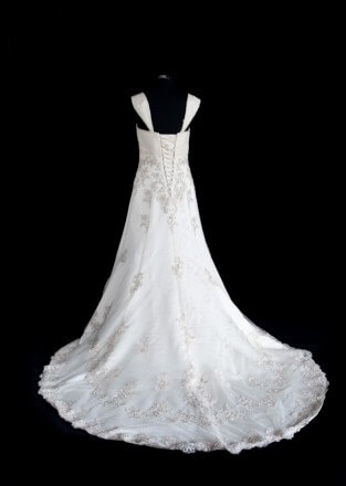 Lace dress – Size 14 Ball Gown dress | Second hand wedding dresses Safety Bay - 5
