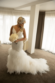 Corston Couture – Size 10 Fishtail dress | Second hand wedding dresses east gosford - 8